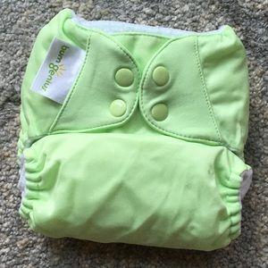 NEW BumGenius 5.0 Pocket Diaper Green